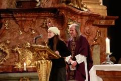 Mše s otcem Heryánem