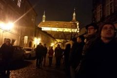Stínadla aneb kostely a uličky staré Prahy