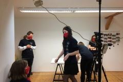 Natáčení představení radních