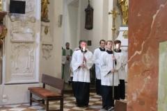 Studentská mše 6. 11. - papežský nuncius Charles Daniel Balvo